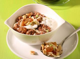 Yogurt con cereali