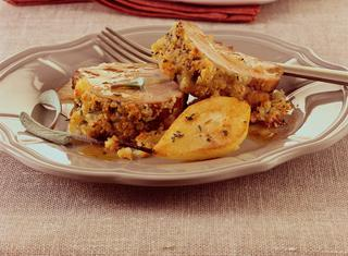 Ricetta Filetto di maiale speziato in crosta al formaggio
