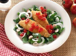Ricetta Cotolette di pesce persico