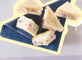 Sandwich dolci alla ricotta