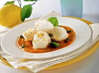 Ricetta Filetti di merluzzo con peperoni
