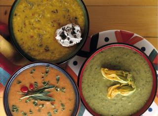 Zuppa fredda di zucca