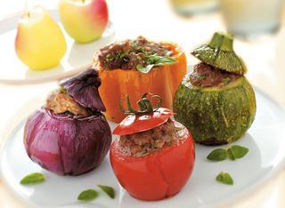 Ricetta Verdure ripiene gratinate