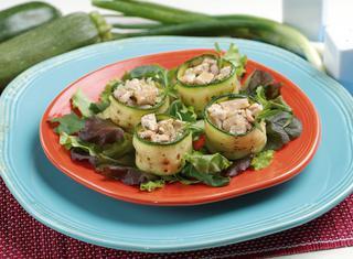 Stuzzichini di zucchine e tonno