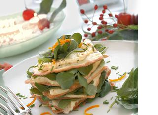 Sfogliatine allo zabaione salato