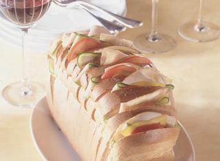 Pane in cassetta a ventaglio