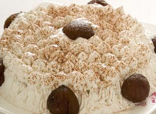 Ricetta Meringata con marrons glacés e crema alle castagne