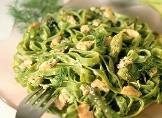 Ricetta Tagliatelle verdi agli asparagi