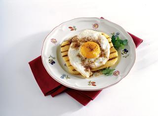Uovo fritto al tartufo bianco