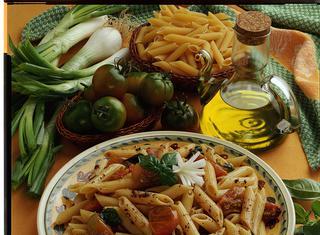 Ricetta Penne al paté di olive