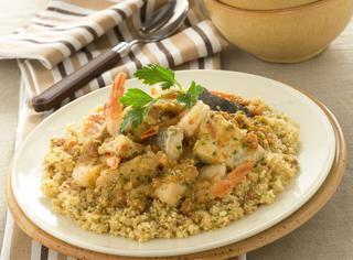 Ricetta Cous cous con zuppa di pesce