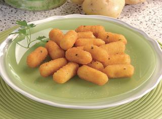 Cazzilli o crochette di patate siciliane