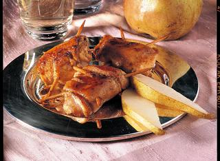 Ricetta Petto di pollo ripieno alle pere