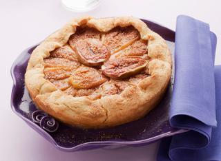 Ricetta Crostata di fichi con crema pasticcera