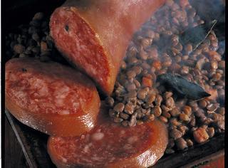 Ricetta Lo zampone con lenticchie