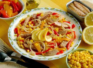 Ricetta Sgombro in insalata