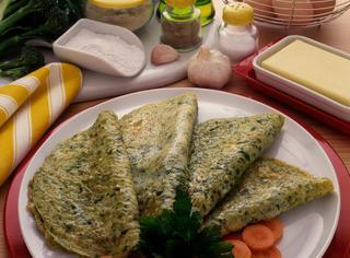 Omelettes di verdure