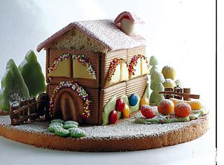 Casetta Di Natale Con Biscotti : Casetta di natale con oro saiwa: casetta di biscotti le migliori