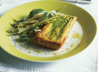 Ricetta Piccole quiche agli asparagi e basilico