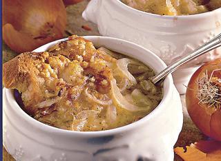 Ricetta Zuppa gratinata di cipolle