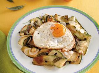 Carpionata di zucchine e uova