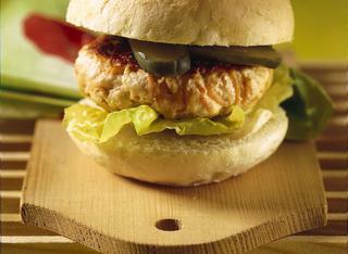 Hamburger leggero di pollo e carote