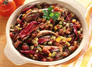 Ricetta Radicchio alle olive