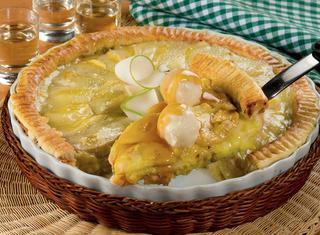 Crostata di pere al mascarpone