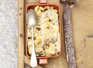Tortino di patate gratinato