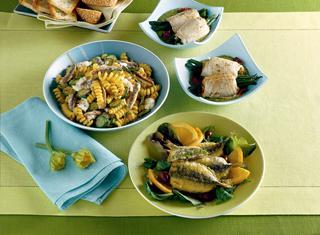Ricetta Involtini di pesce spada con fagiolini
