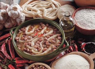 Zuppa arbereshe di fagioli