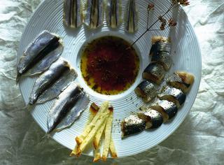 Ricetta Pesce azzurro marinato