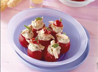 Ricetta Pomodorini ripieni al tonno e olive