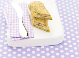 Ricetta Panini di zucchine filanti