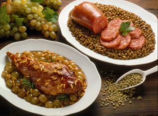Zampone con lenticchie