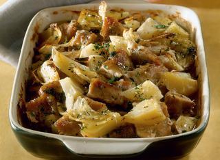 Spezzatino con patate al forno ricetta