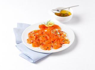 Ricetta base carpaccio di salmone