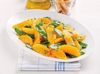 Taccole e arance con citronette
