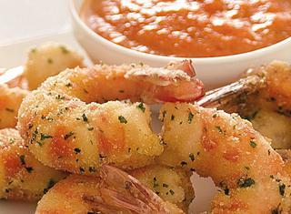 Ricetta Gamberoni fritti allo zenzero con salsina di peperoni
