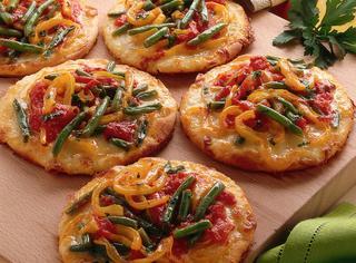 Ricetta Pizzette dell'orto