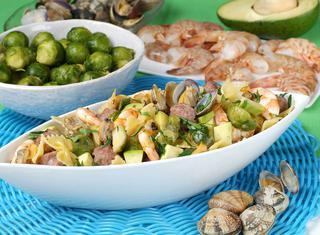 Ricette come cucinare le vongole sgusciate e surgelate for Cucinare salsiccia