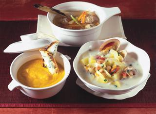 Zuppa di manzo e verdure