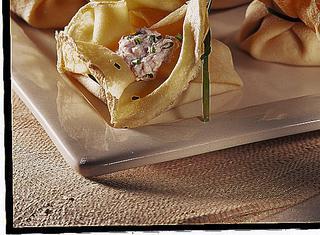 Fagottini di crepes salati