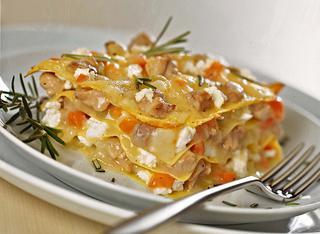 Lasagne con ragù bianco
