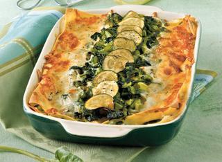 Lasagne alle verdure verdi