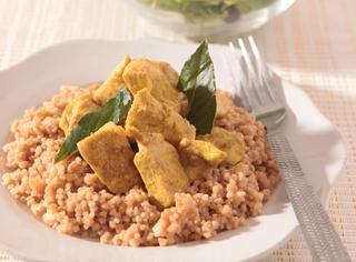 Cous cous di pollo al curry