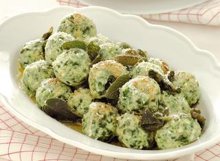 Ricetta Gnocchi di spinaci