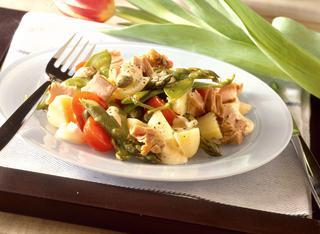 Ricetta Insalata di tonno, asparagi, patate