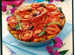 Ricetta Pasticcio di pasta alle verdure