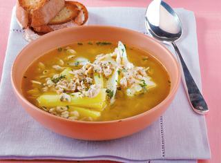 Ricetta Zuppa di vongole e porri al curry